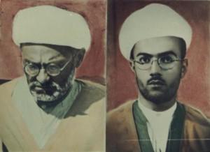 کاکه احمد و پدرش (ملامحمودمفتی )